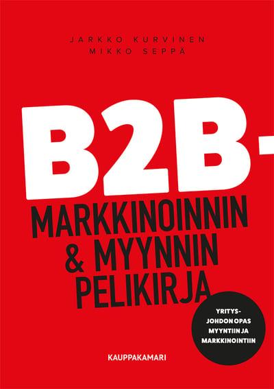 b2b kirjan kansi